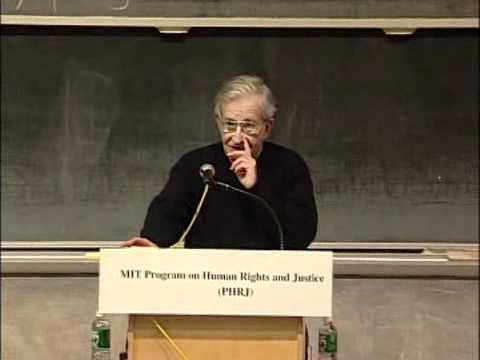 2005 - Noam Chomsky - The Idea of Universality in Linguistics and Human Rights (MIT) 1
