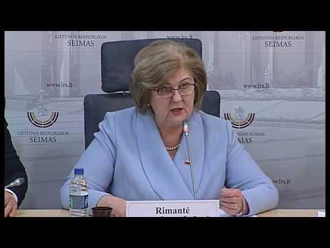 2018-02-09 Seimo Socialinių reikalų ir darbo komiteto pirmininkės  R. Šalaševičiūtės spaudos konf.
