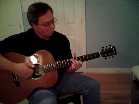 Key to the Kingdom an acoustic guitar cover of a Mark Hanson tune on Goodall guitar