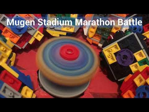 *INFINITY* Mugen Helios Marathon Battle | Lego Beyblade Battles