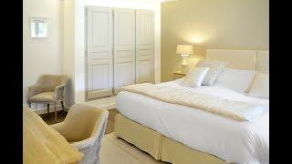 Décoration d'une chambre d'hôtel 5*: couleurs naturelles. French decorating style