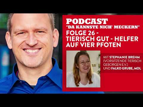 Podcast - Folge 26 - Tierisch gut - Helfer auf vier Pfoten (mit Stephanie Brehm)
