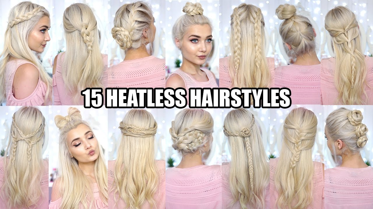 15 braided heatless back to school hairstyles!