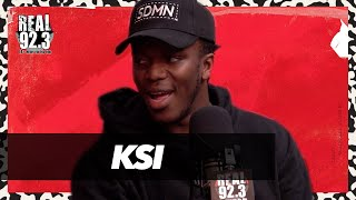 KSI talks Logan Paul Fight, Next Fight with Athlete, UK Rap Scene + More