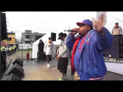 Clan Sur En Vivo Quito Amaru Rap 2013