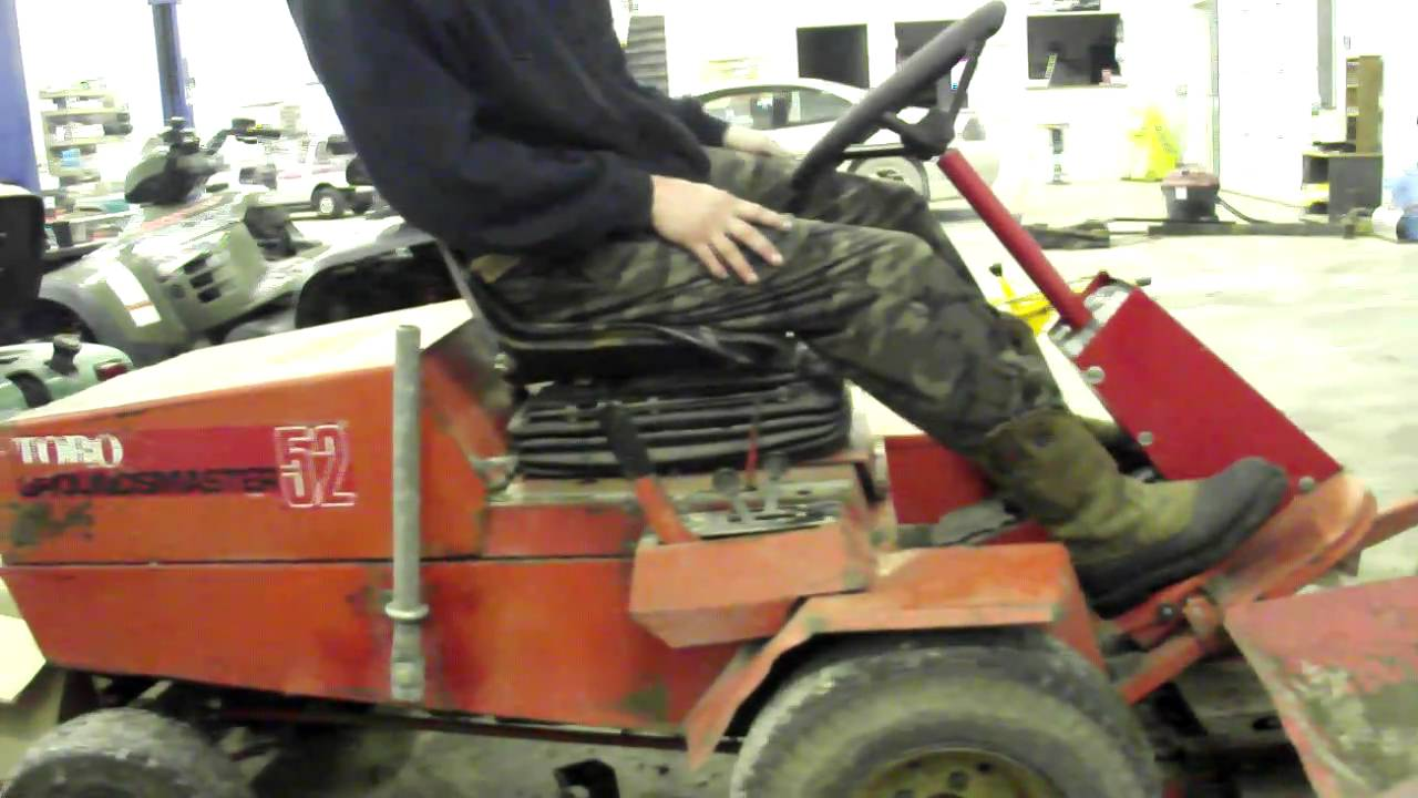 Toro Commercial Mowers >> Toro Groundmaster 52 ebay - YouTube