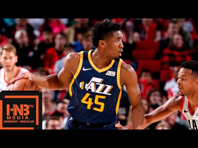 Utah Jazz vs Portland Trail Blazers Full Game Highlights | 10.07.2018, NBA Preseason