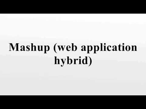 Mashup (web application hybrid)