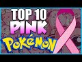 top 10 pink pokemon best pink pokemon for breast cancer awareness month video download