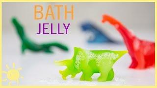 DIY  How to Make Bath Jelly (Easy Recipe!!)