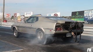 Video Steve Ayesh's twin Turbo Mach 1 Mustang - 7 second pass. download MP3, 3GP, MP4, WEBM, AVI, FLV Oktober 2017