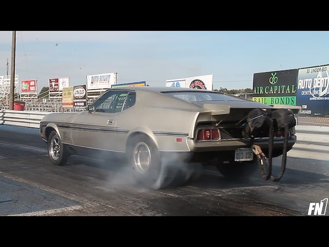 Evil 3000hp Twin Turbo 1972 Ford Mustang Mach 1