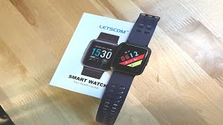 The Letscom Fitness Tracker ID205 - Very Comparable To Apple Watch & Lots Cheaper!