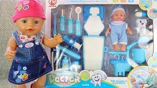 Как МАМА и Беби Бон Играли с Игровым Набором Зубной Доктор Куклы Мультик для малышей