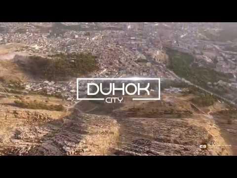 4K Duhok City From Air - 2017