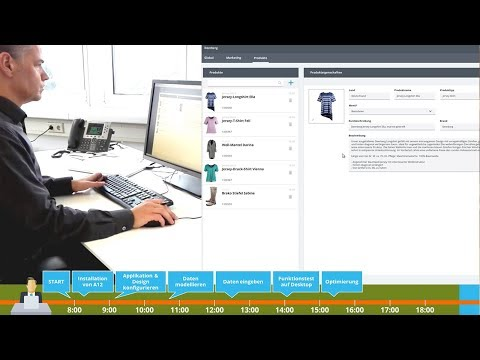 Business Analyst builds web application with A12
