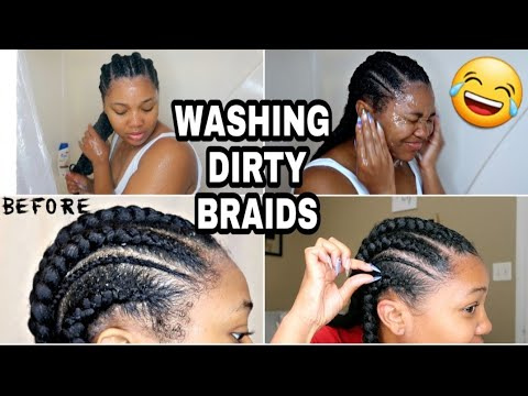 Wash & Refresh Dirty Braids | TRY THIS BEFORE YOU TAKE THEM DOWN.
