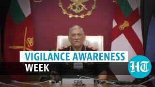 Watch: CDS Gen Bipin Rawat, Army Chief take pledge of honesty & integrity