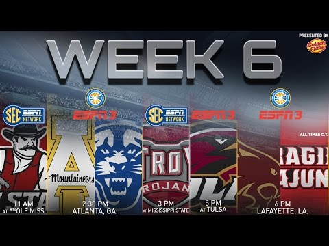 Sun Belt Conference Football Weekend Preview, October 9, 2015