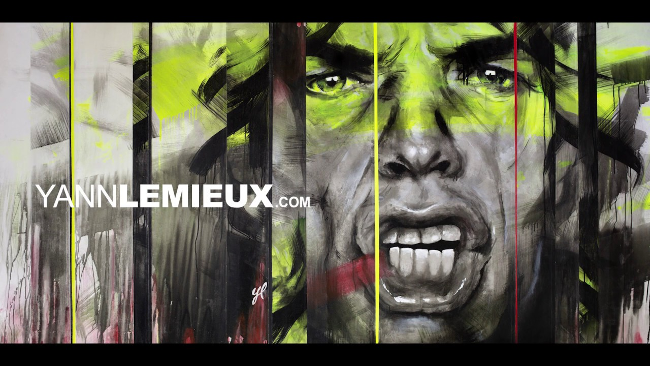 Peinture LIVE / Mick Jagger