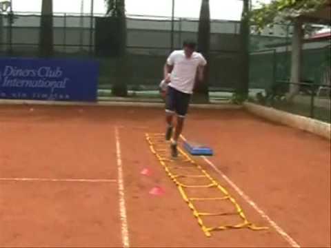 Circuito Tenis : Circuito preparación física para el tenis realizado en curso nivel 2