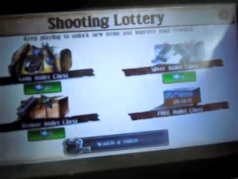 Six Guns Gang Showdown - How to get ' 20 Sheriff star ' lottery UNLIMITED !!!