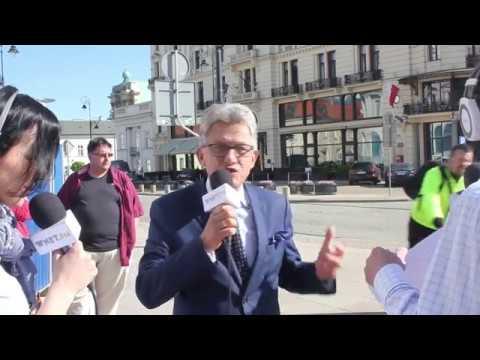 Rowerzysta do Piotrowicza: Kłamca! PRL się kłania. Poseł PiS: To dowód na wolność słowa w Polsce