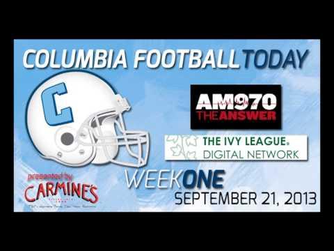 Columbia Football Today (Week 1 - 9/21/13)