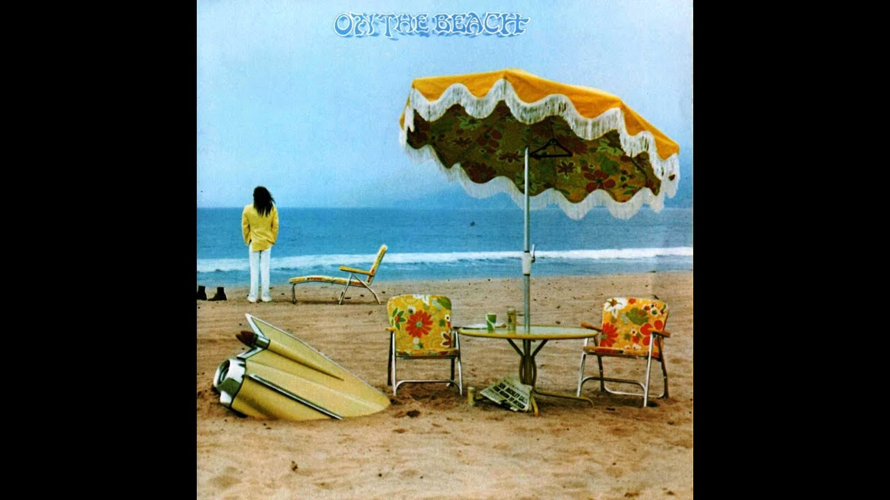 Neil Young On The Beach Youtube