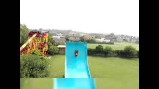 A little Ride, Water slide in Sozo Water park Lahore.