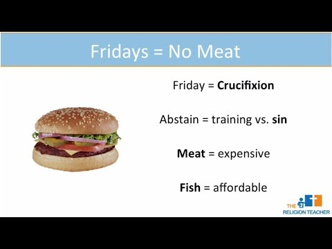 Why Don't Catholics Eat Meat On Fridays During Lent?