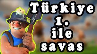 Clash Royale Türkiye 1.'si İle Dostluk Savaşı