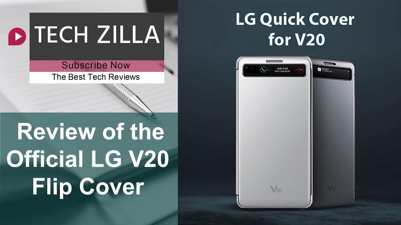 info for b8e48 a3c44 Official LG V20 Flip Cover Review