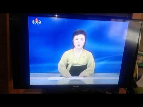 Watching a North Korean news station and it is called KCNA