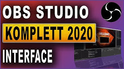 OBS Studio Komplettkurs 2020: #02 Interface anpassen