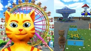 CAT THEME & AMUSEMENT PARK Android/Apple Video Game First Look Play Through