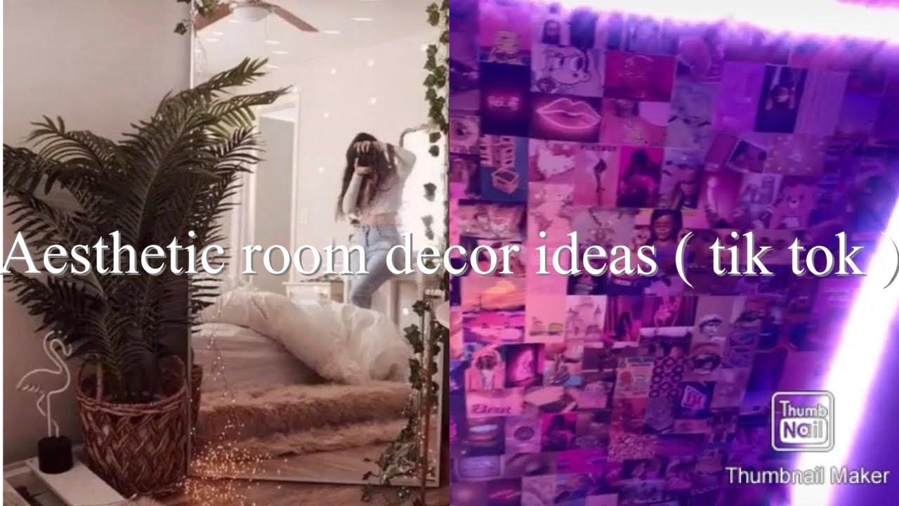Aesthetic Room Decor Ideas Tik Tok Compilation Youtube