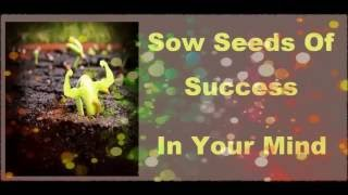 Sow Seeds Of Success In Your Mind - Subliminal Mind Re Programming Recording