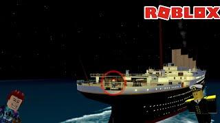 Выживание на Титанике помощника капитана/ Roblox Titanic/ Roblox