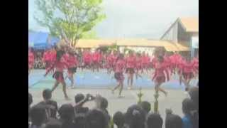 LCC -EDUCATION PINK DRAGONS CHAMPION in cheering competition 2012