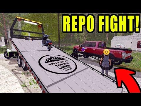 FIGHTING NEW REPO COMPETITION | SPENCER TV REPO BUISNESS | FARMING SIMULATOR 2017 thumbnail