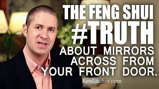Feng Shui Mirror Facing The Front Door: The Truth & Myth Explained