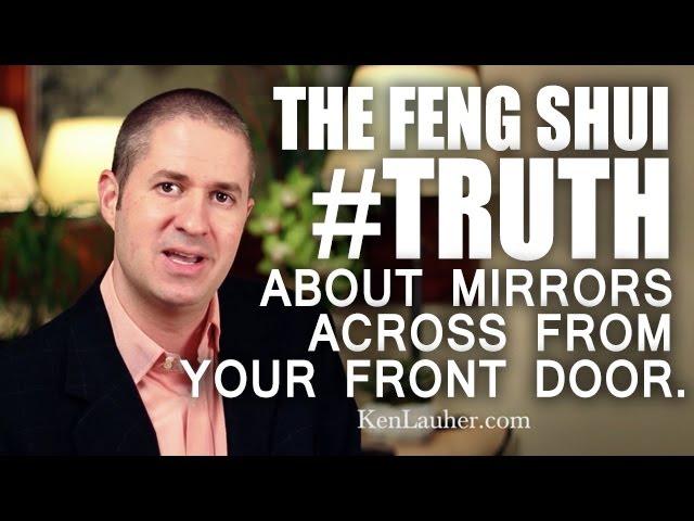 Feng Shui Mirror Facing The Front Door, Is It Bad Luck To Have A Mirror Facing The Front Door