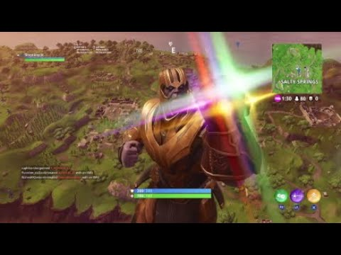 Thanos in fotnite