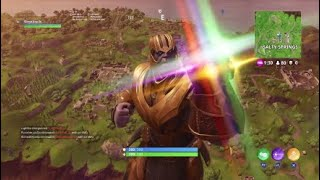 Thanos in fotnite