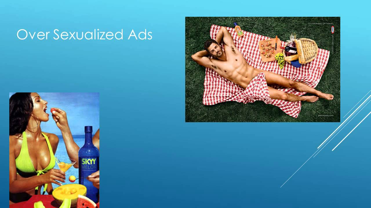 Oversexualized advertising