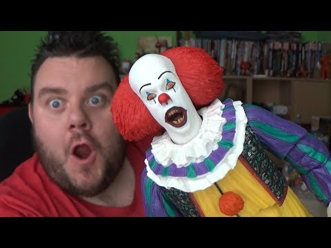 """Ultimate Pennywise it the movie 1990 7/"""" inch Scale Action Figure Neca 2018"""
