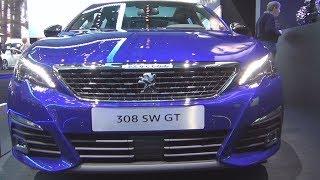 Video Peugeot 308 SW GT BlueHDi 180 S&S EAT8 (2018) Exterior and Interior download MP3, 3GP, MP4, WEBM, AVI, FLV Juli 2018