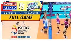 PVL OC 2018: Ateneo-Motolite vs. Creamline | Full Game | 1st Set | October 21, 2018