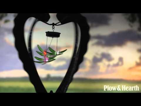 Solar Heart Mobile Wind Spinner SKU# 54436 - Plow & Hearth